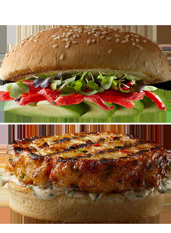 """The """"Fresh Start"""" Gourmet Shrimp Burger"""