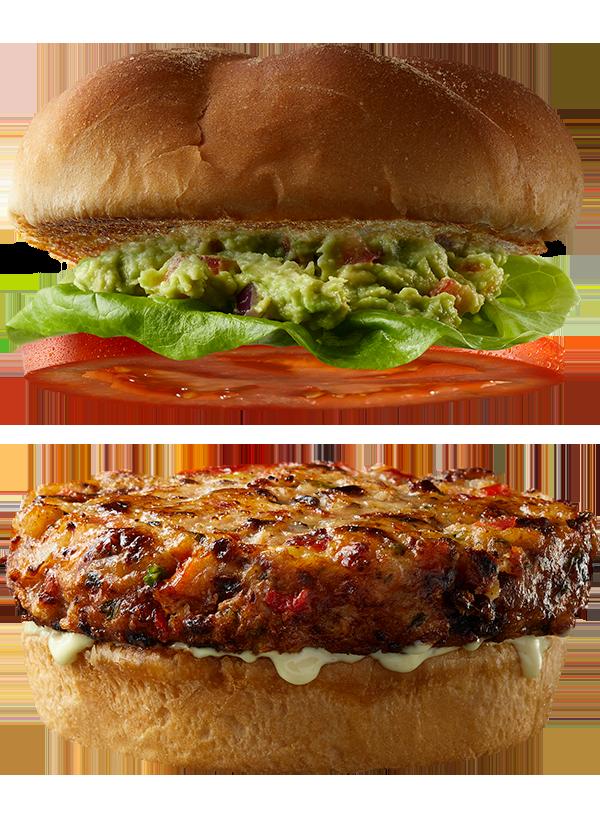 """The """"Southern Comfort"""" Gourmet Shrimp Burger"""