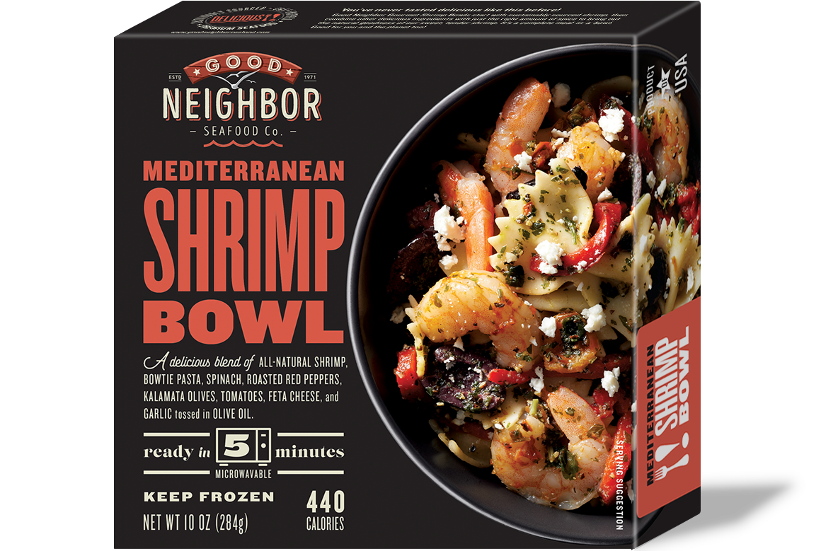 10 oz. Mediterranean Shrimp Bowl