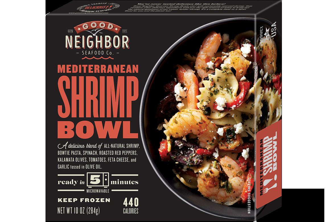 10 oz. Mediterranean Shrimp Bowl