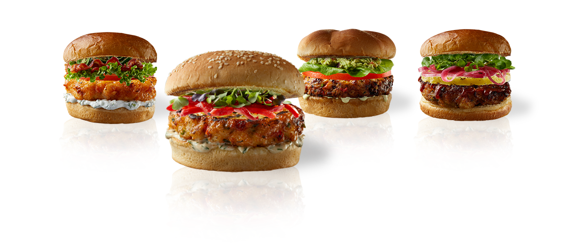 Your Burger. Your topping. Your choice.
